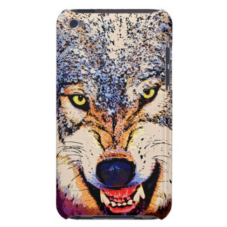 WOLF CLOSE-UP iPod Touch Case-Mate Case