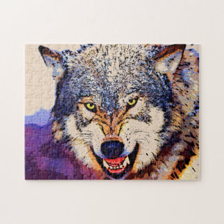 WOLF CLOSE-UP Puzzle