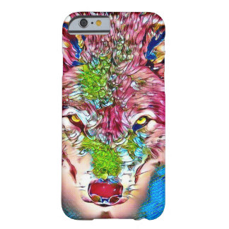 Wolf Color Pencil Wildlife Art iPhone 6/6s Case