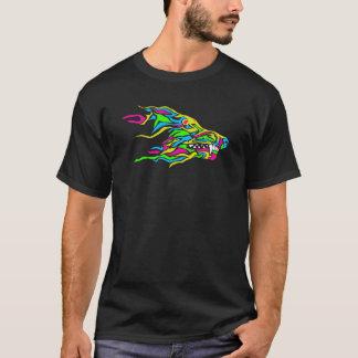 Wolf Color Splash T-Shirt
