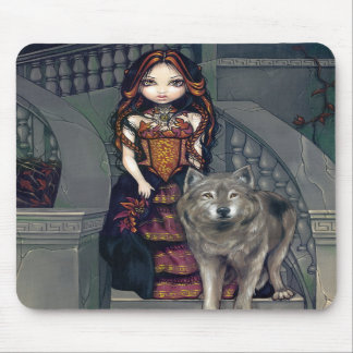"""Wolf Countess"" Mousepad"