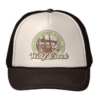 Wolf Creek Brown Trucker Hat