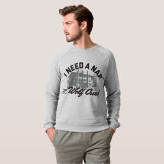 Wolf Creek Nap - Men's AmerApparel Sweatshirt