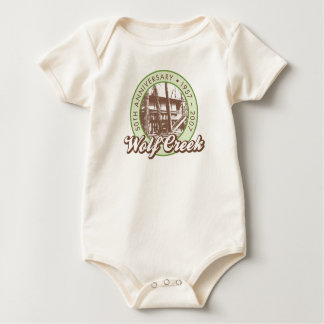 Wolf Creek Natural Baby Bodysuit