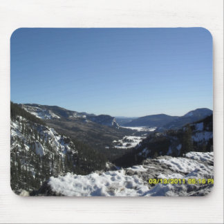 Wolf Creek Ski Area in Colorado 2011 Mouse Mat