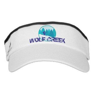 Wolf Creek Teal Ski Circle Visor