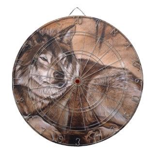 Wolf Dart Board