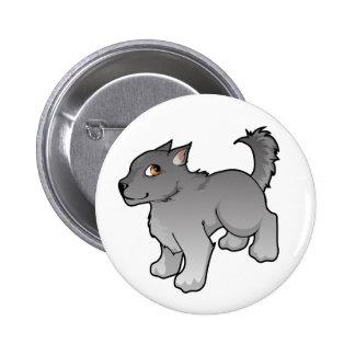 Wolf Design 6 Cm Round Badge