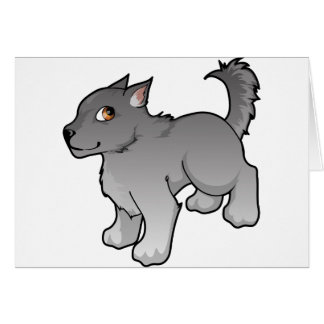 Wolf Design Card