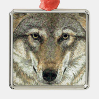 Wolf Design Christmas Ornament
