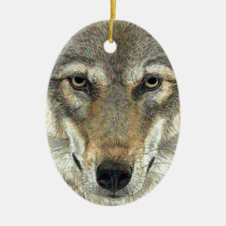 Wolf Design Christmas Ornament
