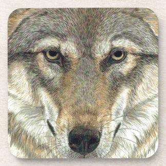 Wolf Design Coaster