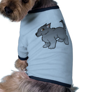 Wolf Design Doggie T Shirt