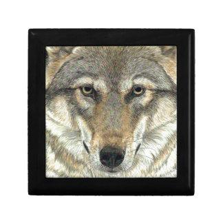 Wolf Design Gift Box
