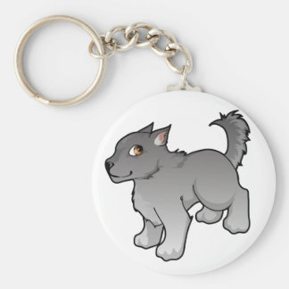 Wolf Design Keychains