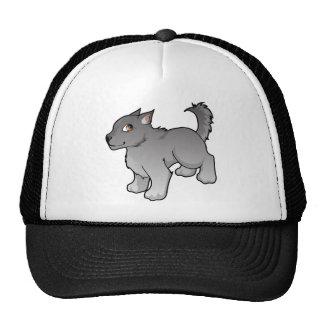 Wolf Design Mesh Hats