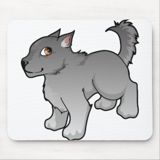 Wolf Design Mouse Pad