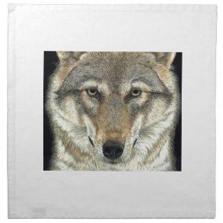 Wolf Design Napkin