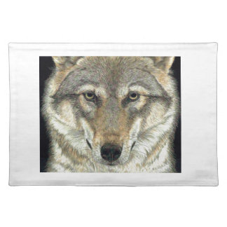Wolf Design Placemat
