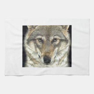 Wolf Design Tea Towel