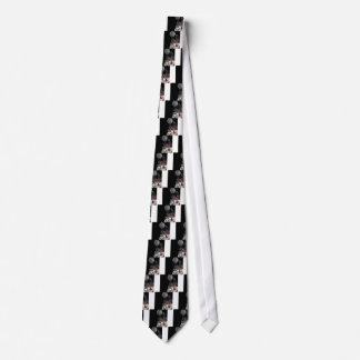 Wolf design tie