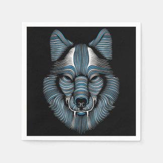 Wolf Disposable Napkin