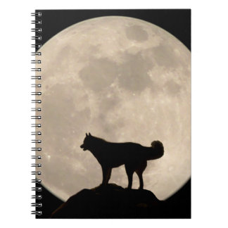 Wolf Dog Notebook Siberian Husky Journal Book