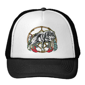 Wolf Dreamcatcher Cap