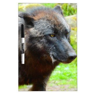 Wolf Dry Erase Board