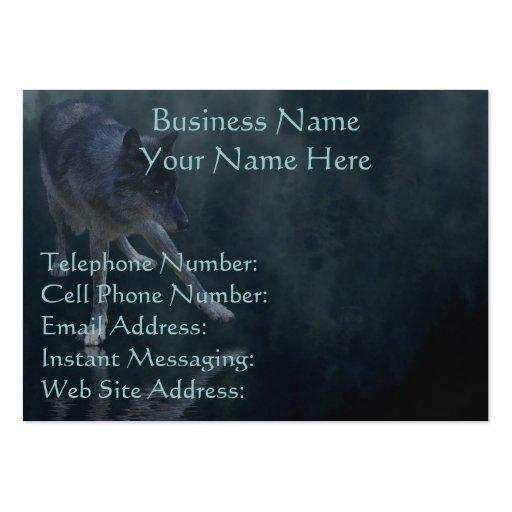 WOLF, EAGLE & TOTEM POLE Profile & Business Cards
