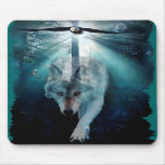 WOLF & EAGLE Wildlife Series Mousemats