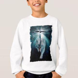 WOLF & EAGLE Wildlife Series Sweatshirt
