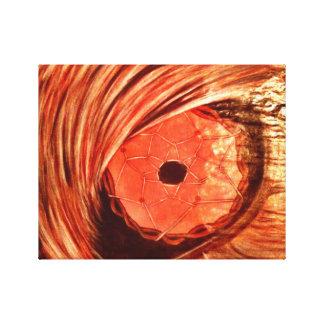 Wolf Eye Gallery Wrap Canvas