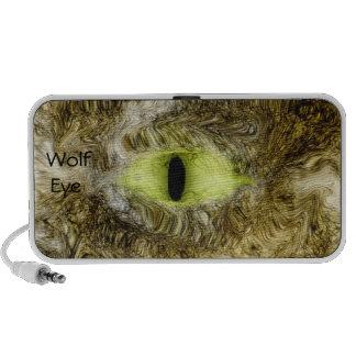 wolf eye notebook speakers
