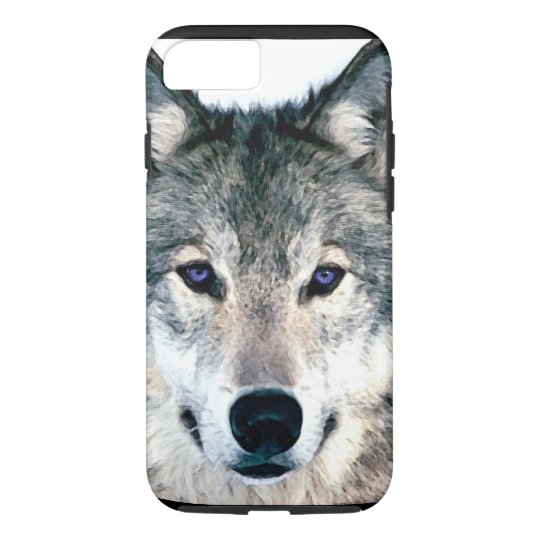 Wolf Eyes in woods wild nature animal iPhone