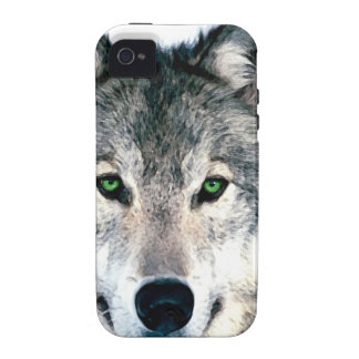 Wolf Eyes wild nature animal Print iPhone 4/4S Case