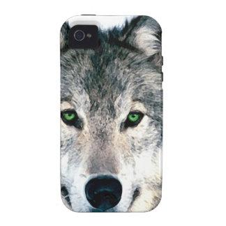 Wolf Eyes wild nature animal Print iPhone 4/4S Case