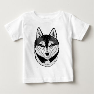 Wolf Face Baby T-Shirt