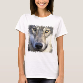 Wolf face close up T-Shirt