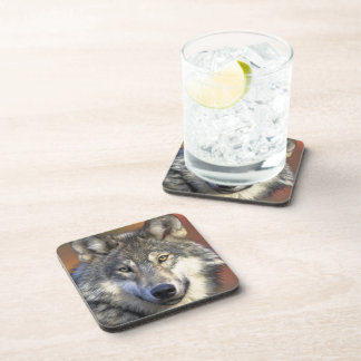 Wolf Face Coaster