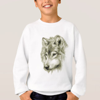 Wolf Face Sweatshirt