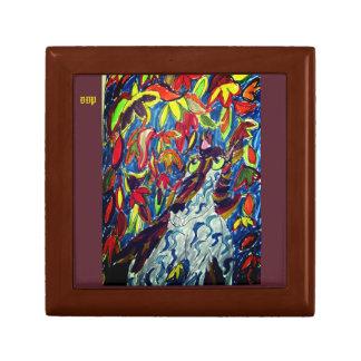 Wolf fall art gift box