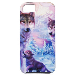 Wolf Family iPhone 5 Case