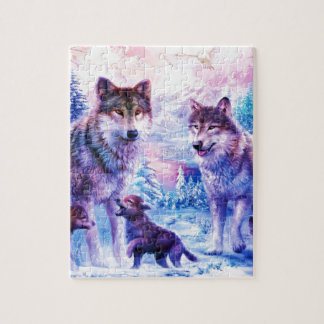 Wolf Family Jigsaw Puzzle