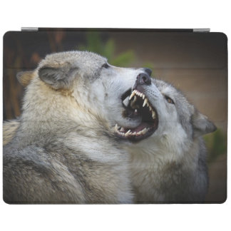 Wolf Fight iPad Cover
