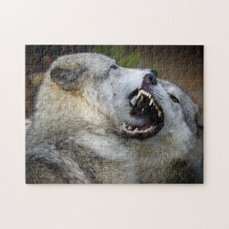 Wolf Fight Jigsaw Puzzle