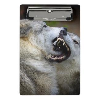 Wolf Fight Mini Clipboard
