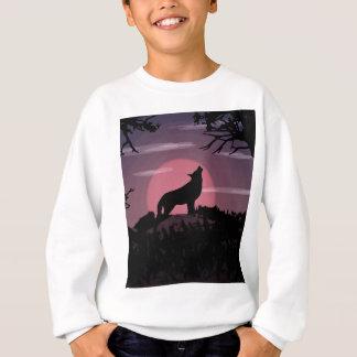 wolf full moon sweatshirt
