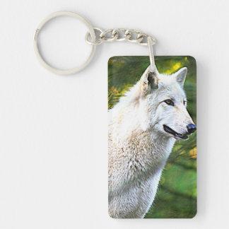 Wolf Girl Key Ring