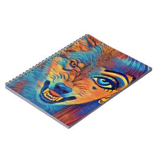 Wolf Girl Notebook